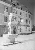 Fountain with the Bagpiper. E. Czech around 1935