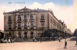 School by Horní brána (Upper Gate) around 1910