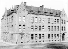School in Karlova Street. Overall south-east view. R. Spatzier around 1905