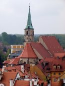 Franciscan church. View from tower of St. Nicholas . RS 2004