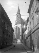 Franciscan church. North view in 1945