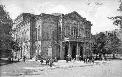 Theatre. Forefront around 1900