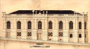 Gymnasium. Design of A. Haberzettl around 1870.