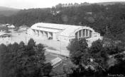 Poohří. Singers' hall after completion in June 1931. Picture taken around 1935