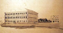 Army hospital. Building in 1850. V. Prökl