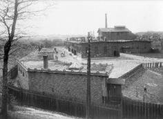 Slaughterhouse. View from the viaduct. 1907