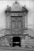 Dominican Monastery. Church entrance.  Around 1930