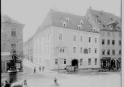 House at the Two Princes around 1900. Photo by J. Haberzettl