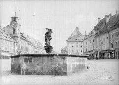 Fountain with the figure of Hercules. Around 1930